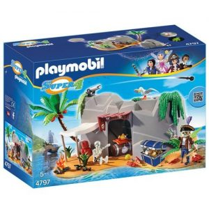 Playmobil-4797-Super-4-Gunpowder-Island-Hideout-0
