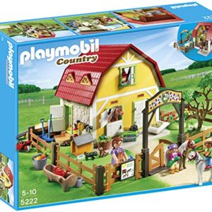 Playmobil-5222-Country-Childrens-Pony-Farm-0