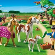 Playmobil-5227-Country-Pony-Farm-Paddock-with-Horses-and-Pony-0-0