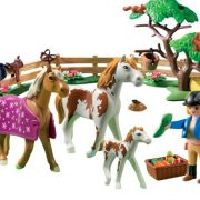 Playmobil-5227-Country-Pony-Farm-Paddock-with-Horses-and-Pony-0-1