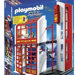 Playmobil-5361-City-Action-Fire-Brigade-Station-0