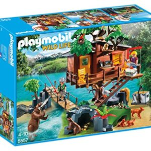 Playmobil-5557-Wildlife-Adventure-Tree-House-0
