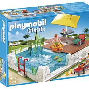 Playmobil-5575-City-Life-Luxury-Mansion-Swimming-Pool-with-Terrace-0