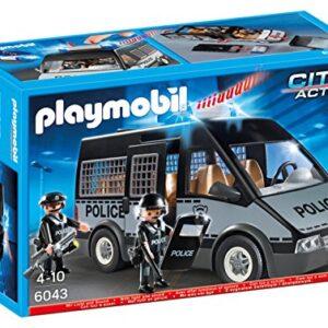 Playmobil-6043-City-Action-Police-Van-0