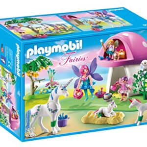 Playmobil-6055-Princess-Fairies-Playset-with-Toadstool-House-0