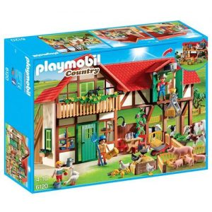 Playmobil-6120-Country-Large-Farm-with-over-15-Animals-0