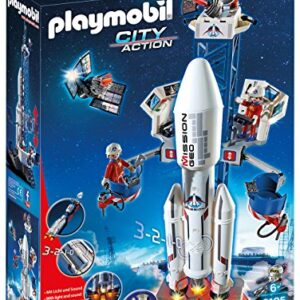 Playmobil-6195-Space-Rocket-with-Launch-Site-and-Lights-and-Sound-0