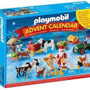 Playmobil-6624-Christmas-on-The-Farm-Advent-Calendar-with-Santa-Playset-0