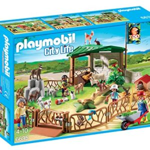 Playmobil-6635-City-Life-Childrens-Petting-Zoo-0