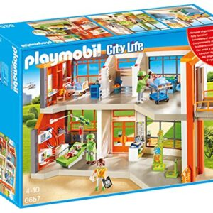Playmobil-6657-City-Life-Furnished-Childrens-Hospital-0