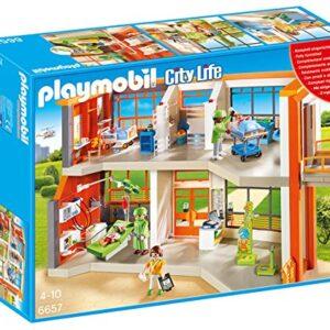 Playmobil-6657-City-Life-Furnished-Childrens-Hospital-0