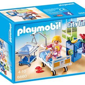 Playmobil-6660-City-Life-Childrens-Hospital-Maternity-Room-0