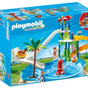 Playmobil-6669-Summer-Fun-Water-Park-with-Slides-0