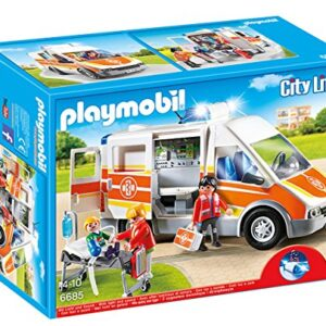 Playmobil-6685-City-Life-Childrens-Hospital-Ambulance-with-Lights-and-Sound-0