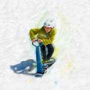 Geospace-Ski-Skooter-Fold-Up-Snowboard-Kick-Scooter-For-Use-On-Snow-Grass-Assorted-Colors-Snow-Sledge-0-1