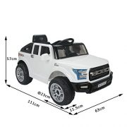 HOMCOM-Kids-Toy-Electric-Ride-on-Car-Sport-Style-2-Motors-12V-Battery-Rechargeable-Jeep-White-0-0