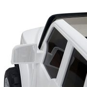 HOMCOM-Kids-Toy-Electric-Ride-on-Car-Sport-Style-2-Motors-12V-Battery-Rechargeable-Jeep-White-0-5