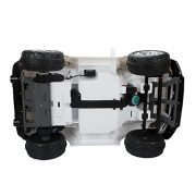 HOMCOM-Kids-Toy-Electric-Ride-on-Car-Sport-Style-2-Motors-12V-Battery-Rechargeable-Jeep-White-0-7