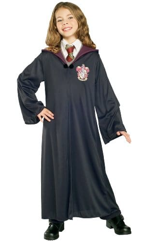 Harry-Potter-tm-Hermione-Grainger-Gryffindor-Robe-with-Clasp-Size-Large-0