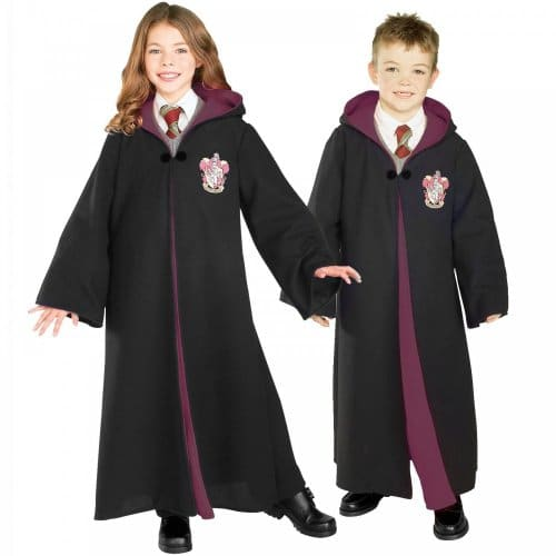 Harry-PotterTM-and-Hermione-GrangerTM-Deluxe-Gryffindor-Robe-Kids-Costume-8-10-years-0