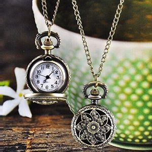 JH-Hot-Fashion-Vintage-Pendant-Chain-Necklace-Bronze-Pocket-Watch-0