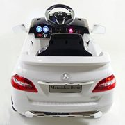 KIDS-RIDE-ON-CAR-LICENSED-MERCEDES-BENZ-ML350-ELECTRIC-CAR-6V-WITH-RC-WHITE-0-3