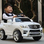 KIDS-RIDE-ON-CAR-LICENSED-MERCEDES-BENZ-ML350-ELECTRIC-CAR-6V-WITH-RC-WHITE-0-4