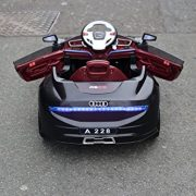 KalCo-Audi-Style-12v-Ride-On-Car-Opening-doors-Working-Lights-Unique-Exclusive-Model-2015-Model-Twin-Motor-12v-Two-Speed-With-Parental-Remote-Control-Black-12v-0-1