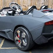 Kids-2-Seater-Lamborghini-Style-Sports-Car-with-Remote-Control-12v-Electric-Battery-Ride-on-Car-Matt-Black-Lambo-0-1
