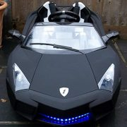 Kids-2-Seater-Lamborghini-Style-Sports-Car-with-Remote-Control-12v-Electric-Battery-Ride-on-Car-Matt-Black-Lambo-0-2