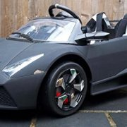 Kids-2-Seater-Lamborghini-Style-Sports-Car-with-Remote-Control-12v-Electric-Battery-Ride-on-Car-Matt-Black-Lambo-0-7