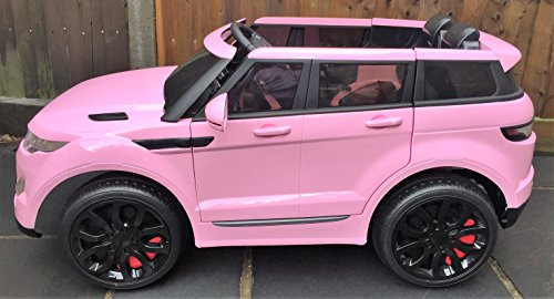 pink rover jeep range electric ride battery sport hse 12v toys super awesome