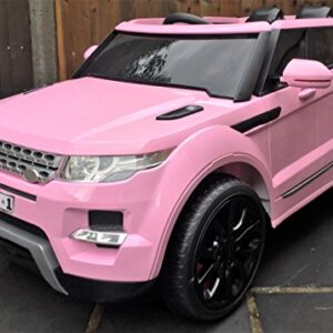 Kids-Range-Rover-HSE-Sport-Style-12v-Electric-Battery-Ride-on-Car-Jeep-Pink-New-Model-0