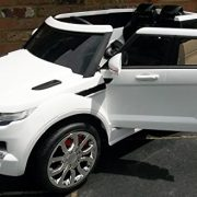 Kids-Range-Rover-HSE-Sport-Style-12v-Electric-Battery-Ride-on-Car-Jeep-White-0-0