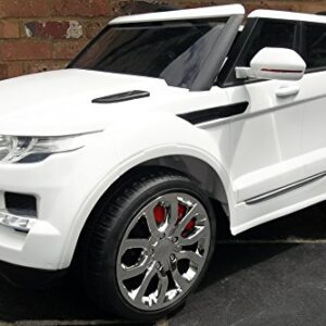 Kids-Range-Rover-HSE-Sport-Style-12v-Electric-Battery-Ride-on-Car-Jeep-White-0