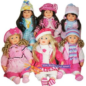 Large-22-Soft-Bodied-Baby-Girl-Doll-With-Outfit-Long-Hair-Girls-Toy-0