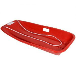 Large-Red-Plastic-Speed-Sledge-dune-Rider-with-rope-Toboggan-0