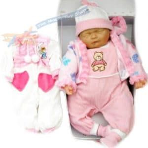 New-Born-Sleeping-Soft-Bodied-Baby-Doll-with-2-Outfits-Gift-Box-Toy-18-0