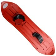 Red-Plastic-Snowboard-Fun-Snow-Winter-Sport-Sledge-Boarding-AdultChildren-8-0-0