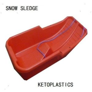 Snow-Sledge-Sled-Red-Toboggan-Made-In-Uk-0