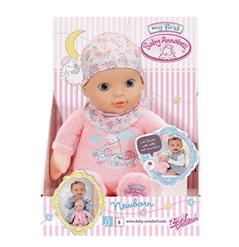Zapf Creation 794432 Baby Annabell Newborn Doll Super