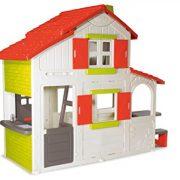 Smoby-320023-Flora-lie-Duplex-House-Toy-0-0