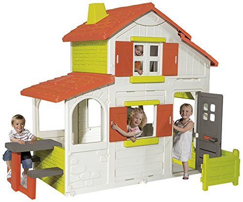 Smoby-320023-Flora-lie-Duplex-House-Toy-0