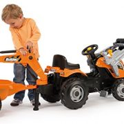 Smoby-710110-Builder-Max-Tractor-Toy-With-Trailer-0-0