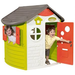 Smoby-Jura-Lodge-Play-House-L124xW117xH132cm-Garden-Toy-Plastic-Window-Door-0