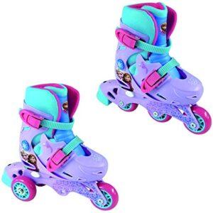DISNEY-Frozen-2-in-1-Evolution-Tri-to-Inline-Roller-Skates-0