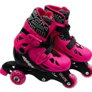 Elektra-Tri-Line-Adjustable-Boots-Small-Pink-0