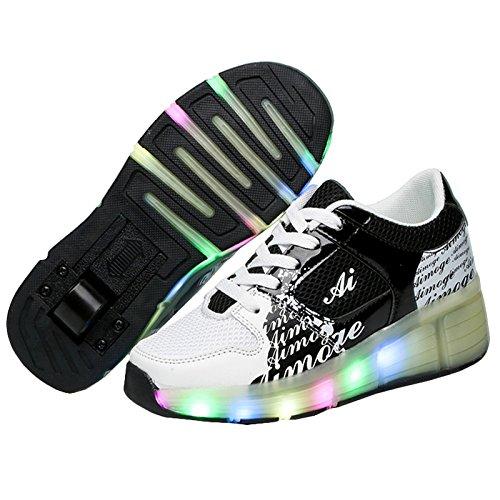 KE-Unisex-Kids-Led-Light-Wheels-Flashing-Mesh-Roller-Skates-Shoes-Inline-Single-Skate-Trainer-Gym-Sport-Shoes-For-Kid-Christmas-Halloween-Gift-0