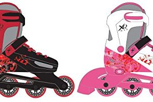 New-Concept-Adjustable-InLine-Roller-Skates-Roller-Boots-Various-Colours-Sizes-New-2016-Model-0