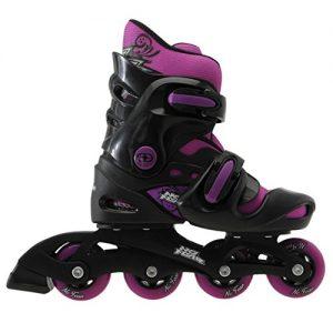 No-Fear-Kids-Girls-Inline-Skates-Removable-Sock-Adjustable-Footplate-0